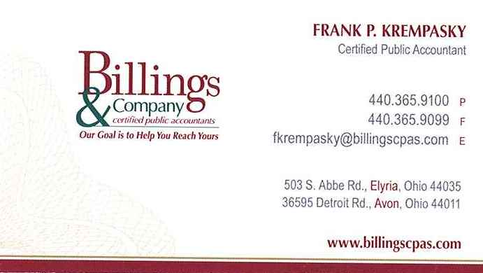 Billings & Company...Our Goal is to Help You Reach Yours